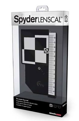 Datacolor Spyder LensCal Packaging