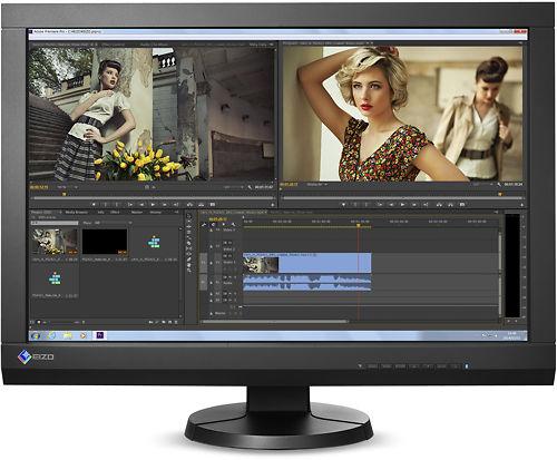 Eizo CG247 24 Inch ColorEdge  Monitor Front
