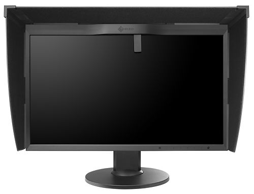 EIZO CG248 24 Inch 4K ColorEdge Monitor Front Sensor with Hood