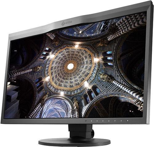 EIZO CG248 24 Inch 4K ColorEdge Monitor Side Angle Display