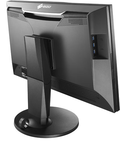 EIZO CG248 24 Inch 4K ColorEdge Monitor Back Angle