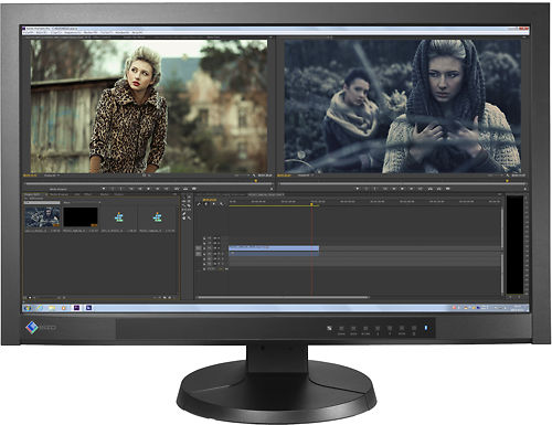 EIZO CG277 27 Inch ColorEdge Monitor Front Display