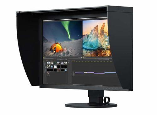 EIZO CG279X 27 Inch ColorEdge Monitor Side View