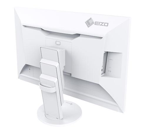 EIZO EV2475 24 Inch Flexscan Monitor Rear View Side White