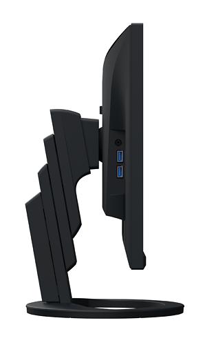 Eizo FlexScan EV2480 23 8inch Monitor Side Connectivity