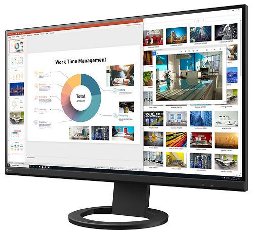 Eizo Flex Scan 27inch Monitor EV2760 BK 45left
