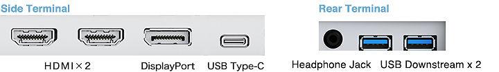 "Eizo Flexscan EV2785 27"" 4K Monitor Image"