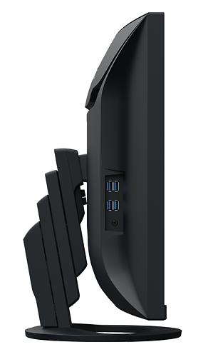 Eizo Flex Scan 37 5inch Monitor EV3895 BK Side
