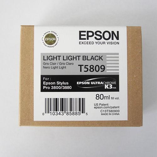 Epson Stylus Pro 3800 Ink T5809 Light Light Black Clearance Master Image