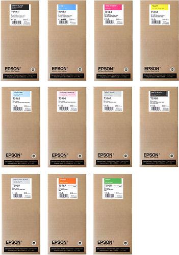 Epson Stylus Pro 7900 & 9900 350ml Inks Master Image