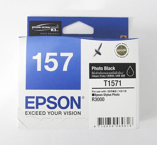 Epson Stylus Pro R3000 T1571 Photo Black Ink Clearance Master Image