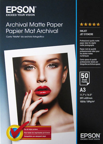 Epson Archival  Matte A3