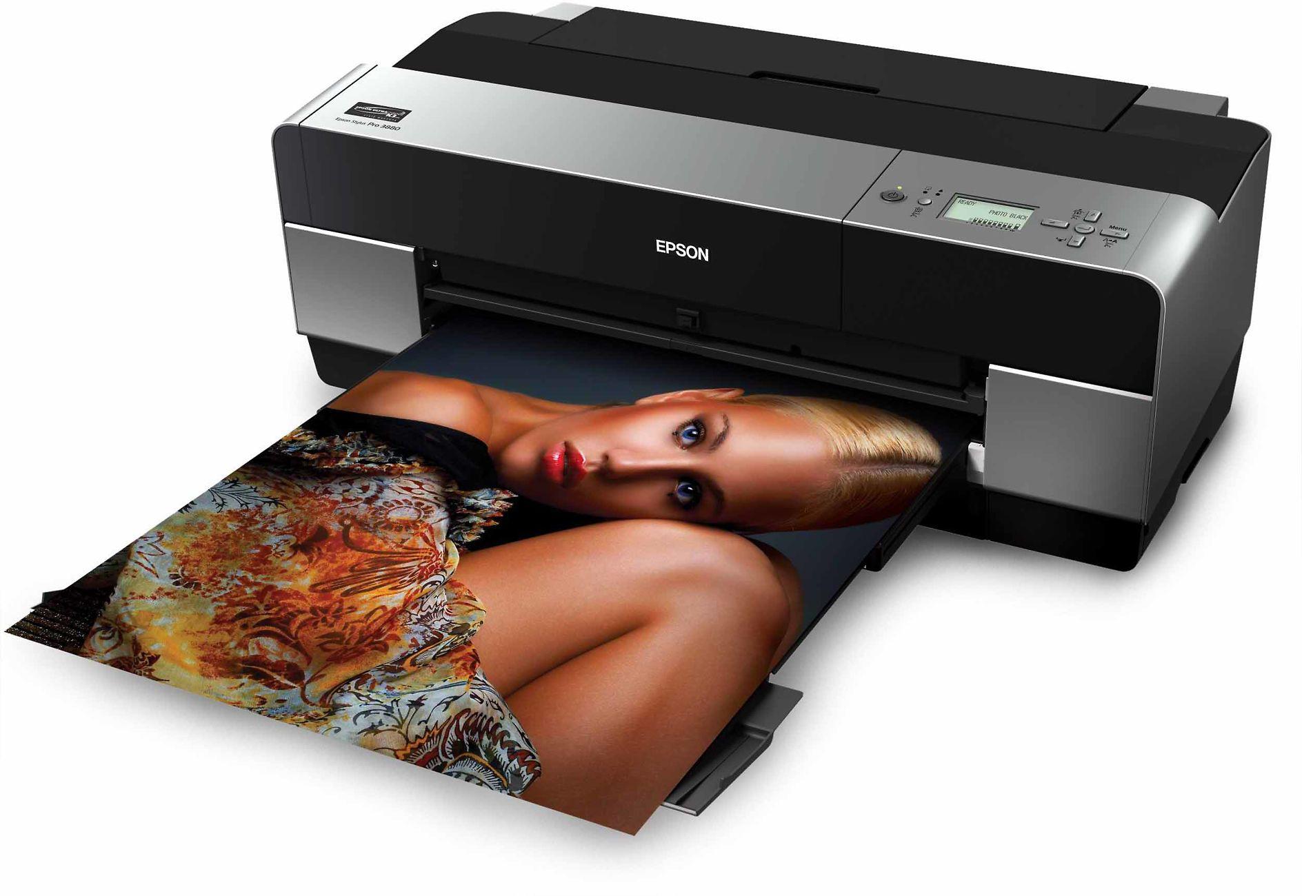 Epson Stylus Pro 3880 Inks Image