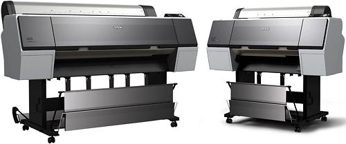 Epson Stylus Pro 7900 and 9900 Inkjet Printer