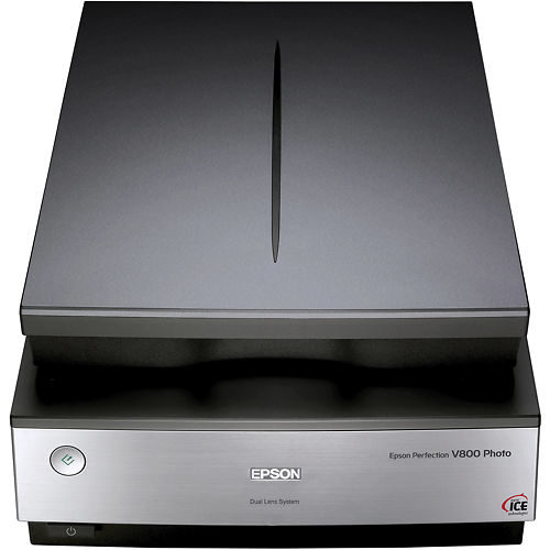 Epson Perfection V800 A4 Scanner closed