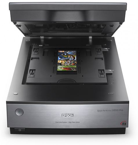 Epson Perfection V850 Pro A4 Scanner open