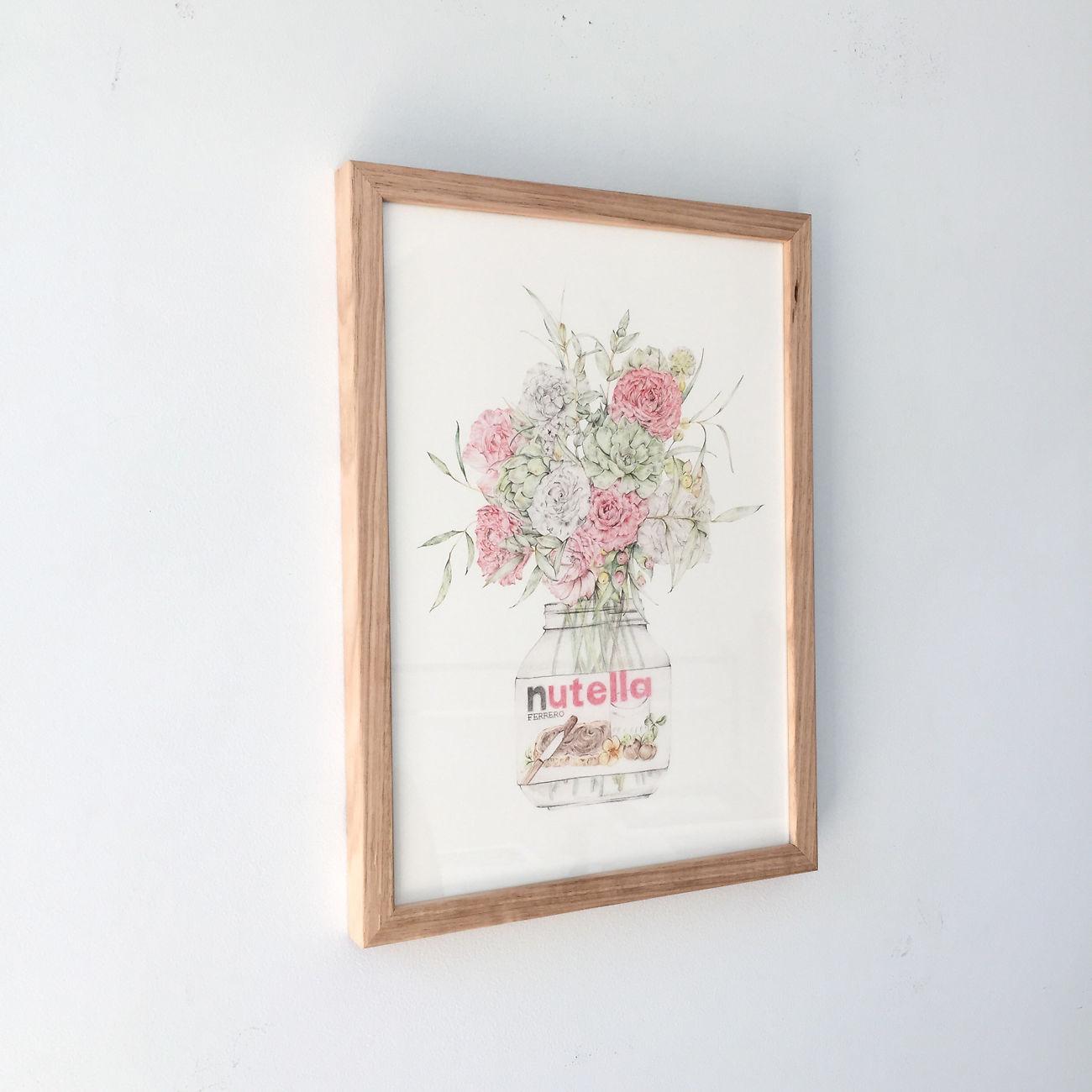 Tasmanian Oak Gallery Frame Image