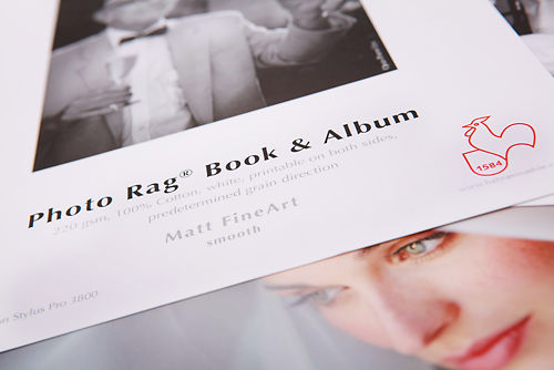 Hahnemuhle Photo Rag Book and Album 220gsm Sample