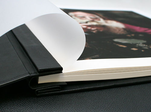 Inkjet Leather Photo Albums 2 Black