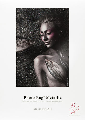 Hahnemühle Photo Rag Metallic 340gsm Master Image
