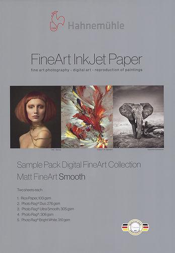Hahnemühle Smooth Matte Inkjet Sample Pack Master Image