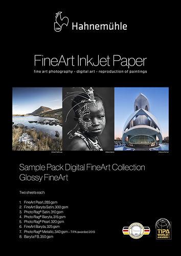 Hahnemühle Glossy Inkjet Sample Pack Master Image