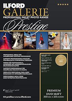 Ilford Galerie Premium Duo Matt 200gsm Master Image