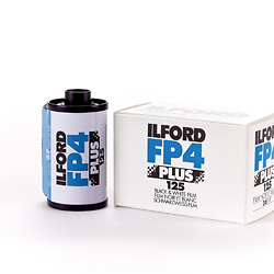 Ilford FP4 Plus 125 35mm Black and White Film