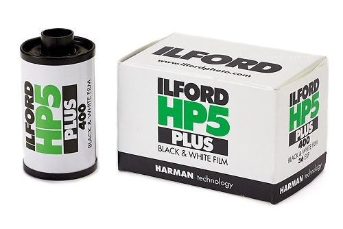 Ilford HP5 Plus 400 35mm Black and White Film Master Image