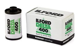 Ilford Delta 400 35mm Black and White Film