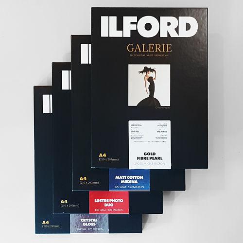 Ilford Galerie New Range Inkjet Paper Sample Pack Master Image