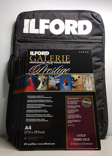 Ilford Portfolio Bag and Gloss Paper Bundle Master Image