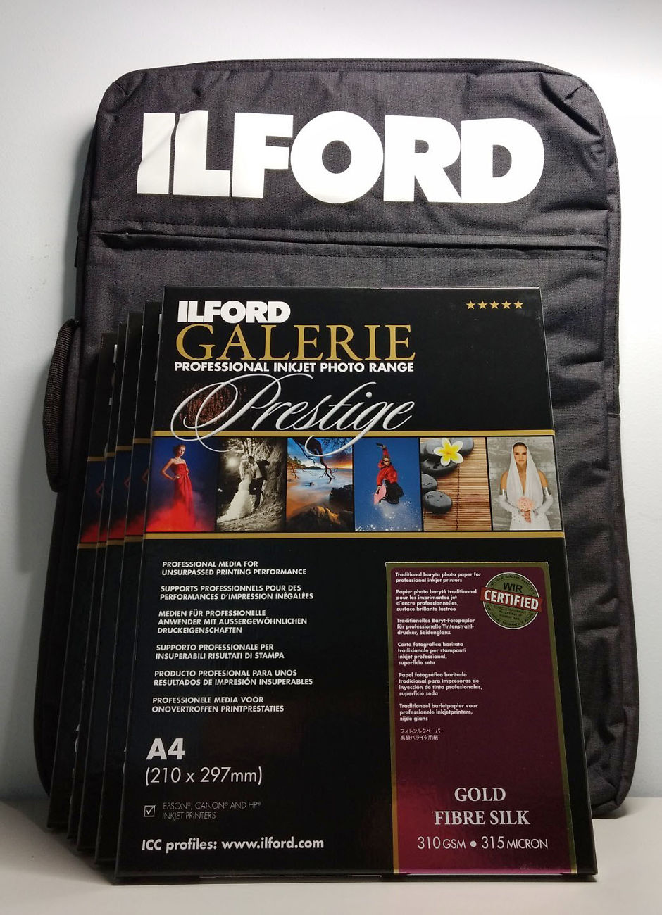 Ilford Portfolio Bag and Gloss Paper Bundle | Image Science