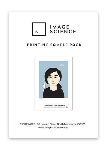 Printing Sample Pack Master Image