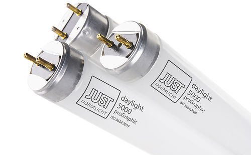 JUST Daylight 5000 ProGraphic Fluorescent Tubes Master Image