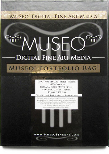 Museo Portfolio Rag 300gsm  - A2 sheet box with light damage Master Image