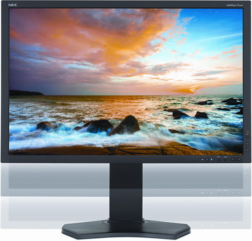 NEC P242W 24 Inch Monitor Adjustable