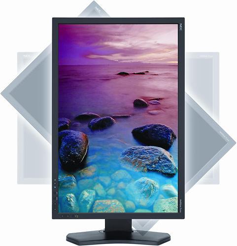 NEC P242W 24 Inch Monitor Rotate