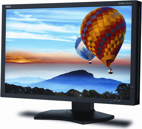 NEC PA242W 24 Inch Monitor Left Side
