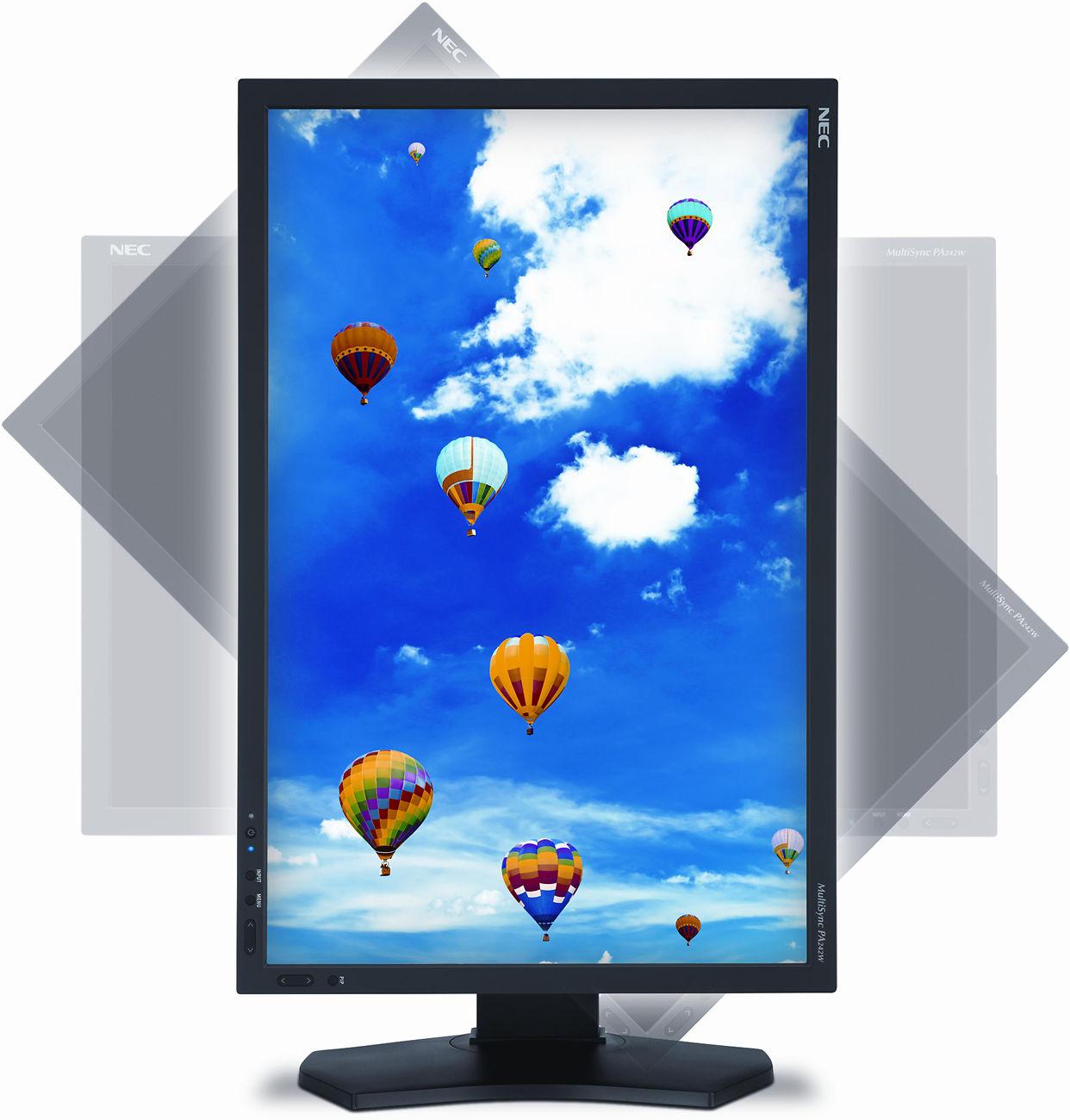 "NEC PA242W 24"" Monitor Image"