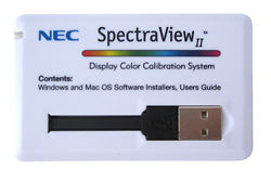 NEC SpectraView Direct Hardware Calibration System Software