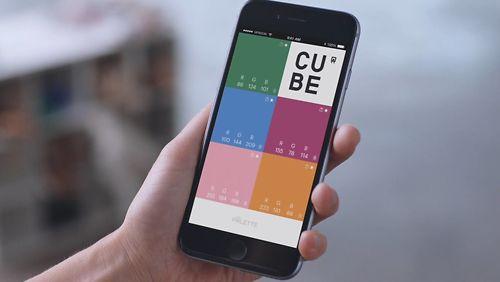 Palette Cube Lifestyle App