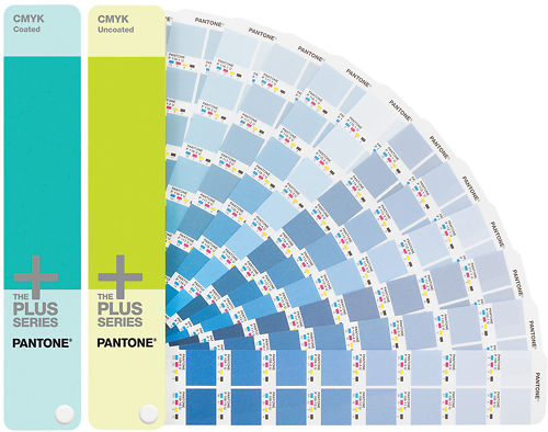 Pantone CMYK Colour Guide Coated and Uncoated Master Image