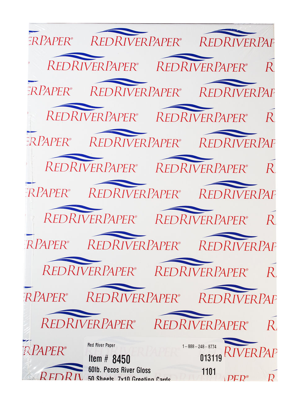 Red River Pecos River Gloss Cards 230gsm Image