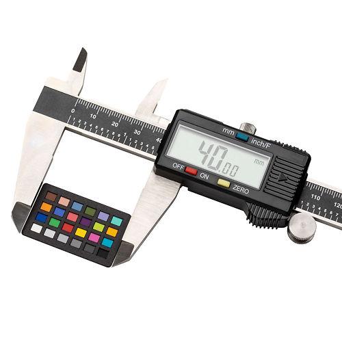 X Rite Colorchecker Nano Classic being measured