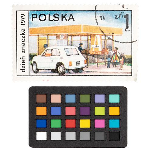 X Rite Colorchecker Nano Classic size reference stamp