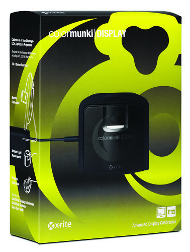 X-Rite ColorMunki Display Packaging