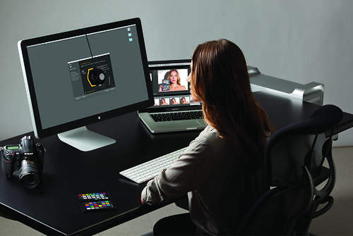 X-Rite ColorMunki Display In Use
