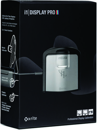 X-Rite i1 Display Pro Packaging Left