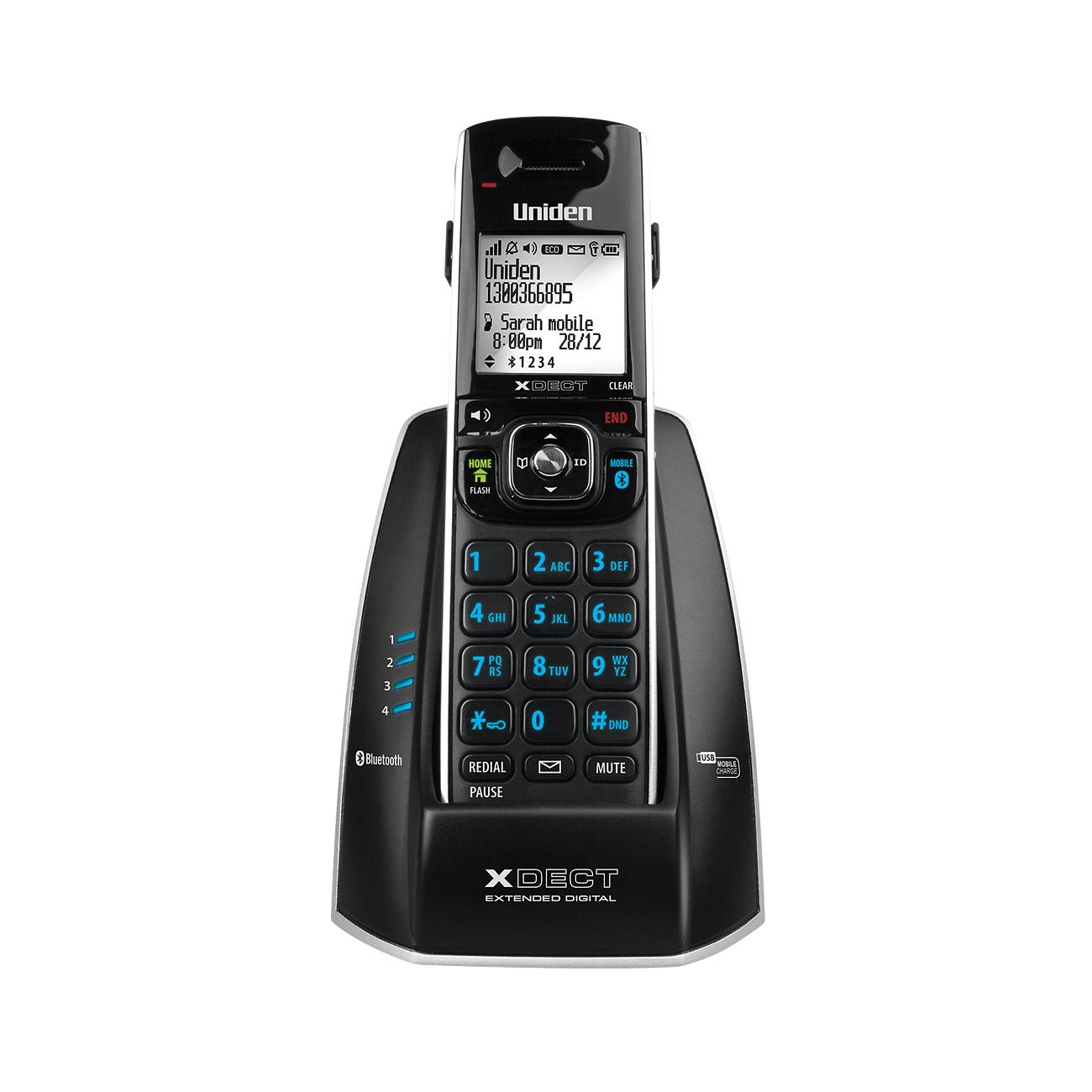 Uniden Cordless Phone 8315 (2nd hand, as new) Image